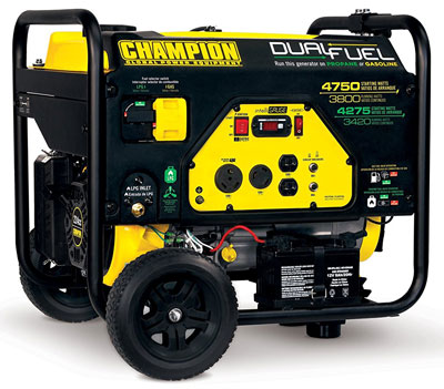 1. Champion Power Equipment Portable Generator (76533)