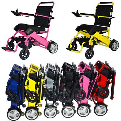 7. FOLD-N-GO Power Wheelchair