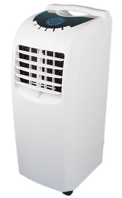 8. Global Air NPA1-08C White Portable Air Conditioner