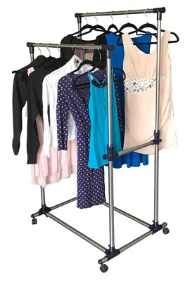 eweiu0027s homewares rolling garment rack