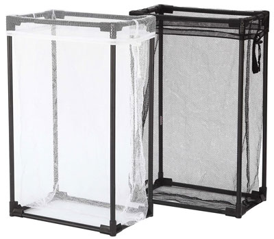 4. Storagemaniac Laundry Hamper – Removable Mesh Laundry Bag (Pack of 2)