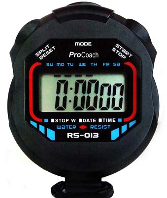 1. ProCoach RS-013 Stopwatch Timer