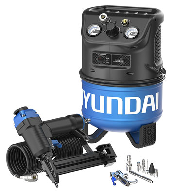 8. Hyundai HHC2GNK Electric Air Compressor