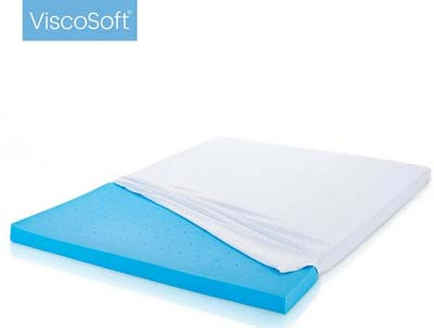 4. ViscoSoft 3-Inch Mattress Topper