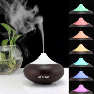 7. Infiland Ultrasonic Humidifier Air Purifier Aroma Diffuser