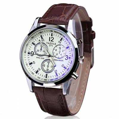 1. ABC Men's Luxury Quartz Analog Watches