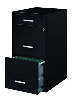 9. Space Solutions 3-Drawer File Cabinet