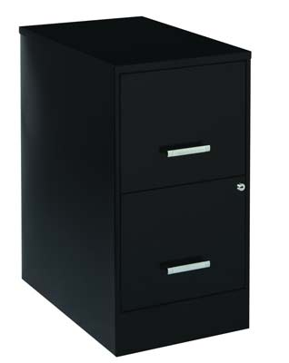 8. Space Solutions 2-Drawer File Cabinet
