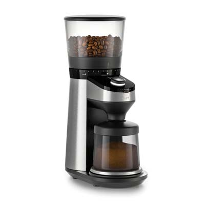 7. OXO Conical Burr Coffee Grinder