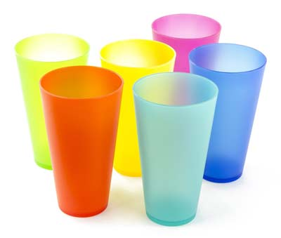 6. Imperial Home Plastic Cups