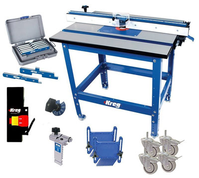9. Kreg PRS1045 Router Table
