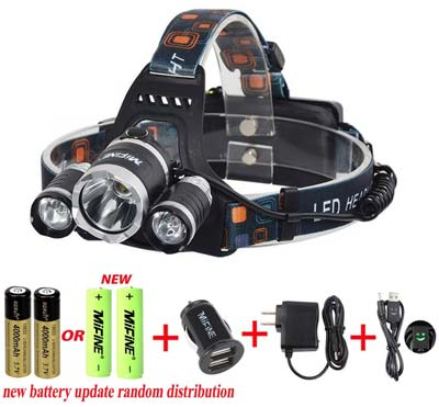 1. Mifine Waterproof LED Headlamp