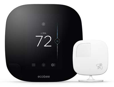 5. ecobee3 Smarter Wi-Fi Thermostat