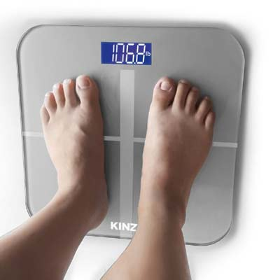 2. Kinzi Digital Bathroom Scale