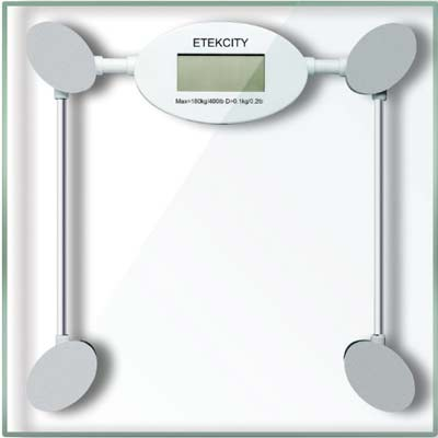 6. Etekcity Weight Scale (with Tempered glass)