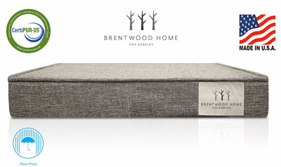 9. Brentwood Home 4-Inch Memory Foam Orthopedic Pet Bed
