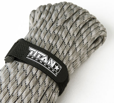 6. Titan Paracord MIL-SPEC 550 Military Survival Cordage