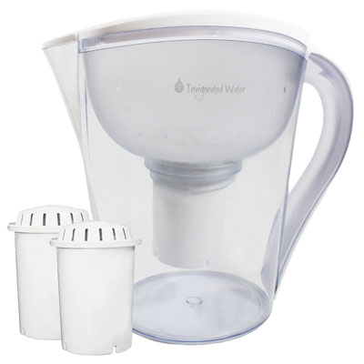 1. Invigorated Living Alkaline Water Pitcher