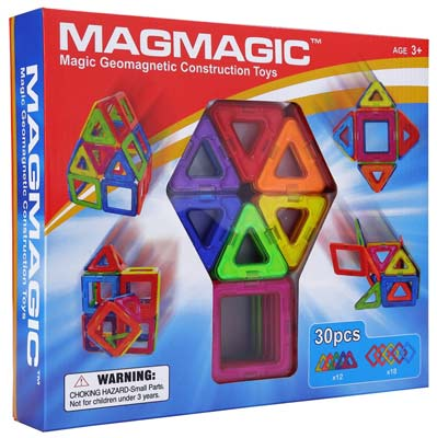 7. MagMagic Building Block Magnetic Toy