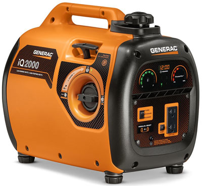 6. Generac Gas Powered Generator (6866 iQ2000)