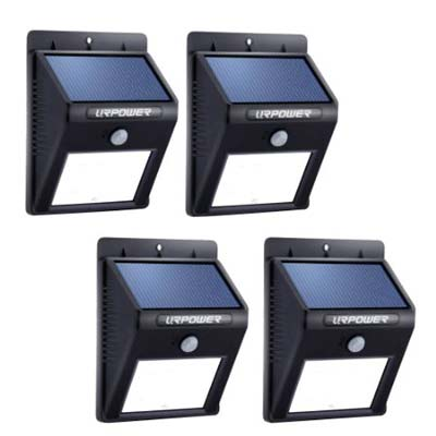 6. URPOWER Solar Light (8 LED Outdoor Solar Powered)