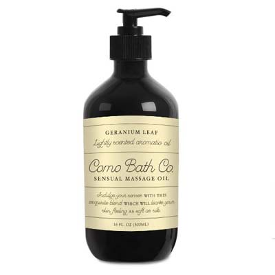 9. Como Bath Co. Sensual Massage Oil