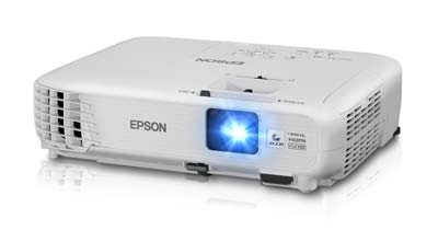 9. Epson 3000 Lumens 1040 Home Theater Projector