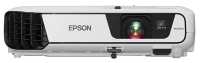 6. Epson 3200 Lumens 640 Home Theater Projector