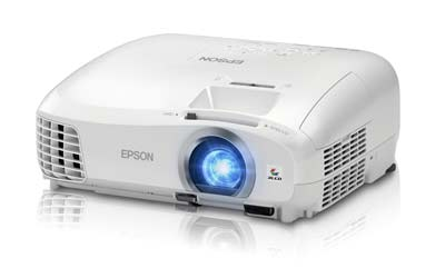 4. Epson 2040 3D 3LCD Home Theater Projector