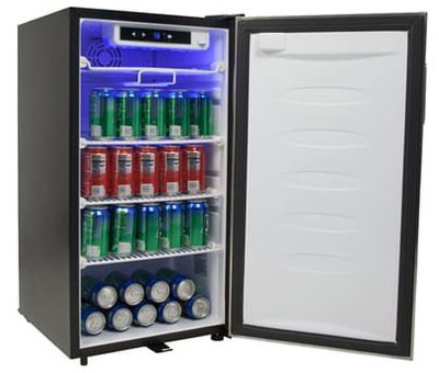 10. EdgeStar 113 Can Beverage Center (BWC210SLD)
