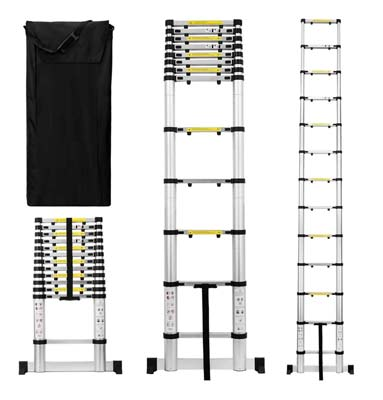 10. Useful. UH-TL189 Telescoping Extension Ladder