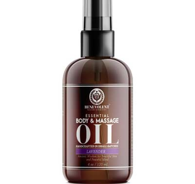 4. Benevolent Nourishment Natural Massage and Body Oil