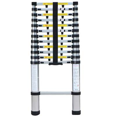 9. Yaheetech Telescoping Extension Ladder