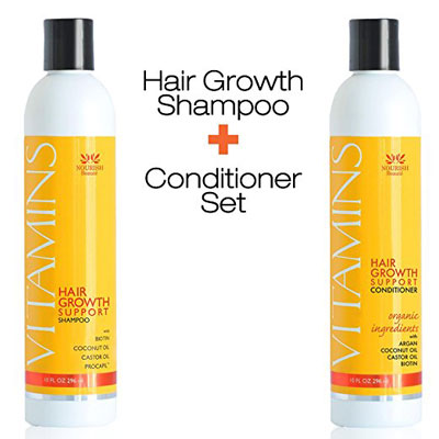 2. Nourish Beaute Hair Loss Shampoo & Conditioner