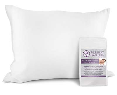 3. Mulberry Silk Pillowcase by Mulberry Park Silks
