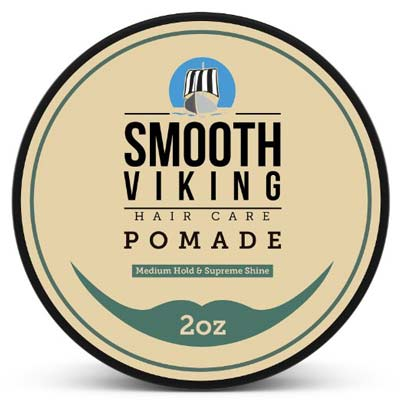 6. Smooth Viking Hair Care Pomade
