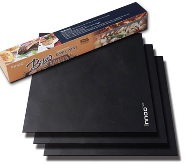 9. Innoo Tech BBQ Grill Mats (Set of 3)