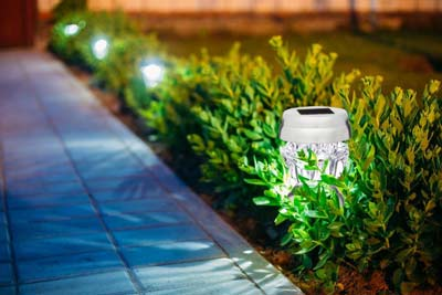 10. Living Lane Solar LED Lights