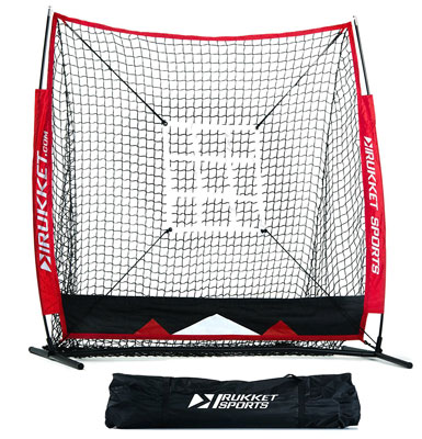 3. Rukket Sports 5x5 Baseball & Softball Practice Net
