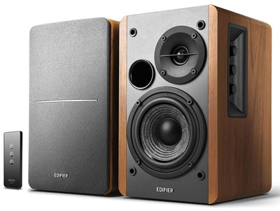 2. Edifier R1280T Bookshelf Speakers