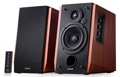 1. Edifier R1700BT Bluetooth Bookshelf Speakers