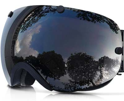 4. Zionor Snowboard Ski Goggles (with Detachable Lens)