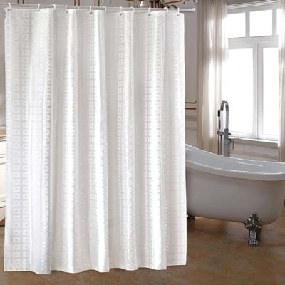 ufaitheart extra long shower curtain