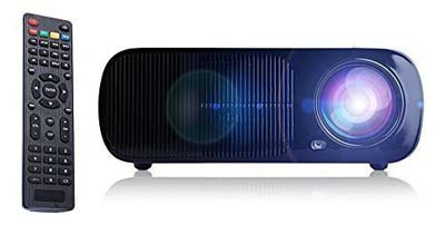 7. iRULU Portable Multimedia LED Video Projector
