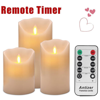 2. Antizer LED Flameless Candles