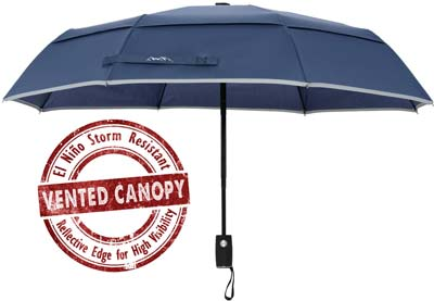 10. Arcadia Outdoors Travel Umbrella