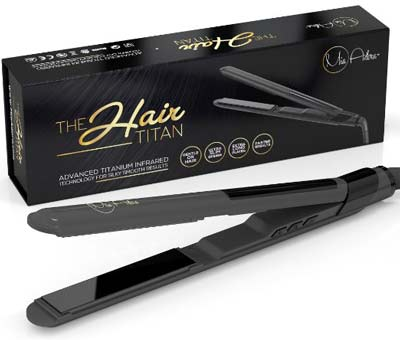 4. MIA ADORA Hair Straightener Flat Iron