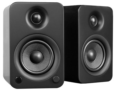 are audio offer and wireless compact allaire bookshelf aperion speakers bluetooth