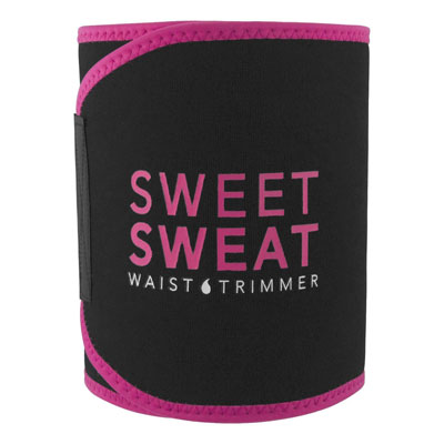 4. Sports Research Pink Logo Waist Trimmer for Men and Women