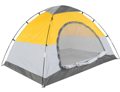Swift-n-Snug 2 Person C&ing Tent (Yellow/Gray)  sc 1 st  Ahjoo : best tent 2 person - memphite.com